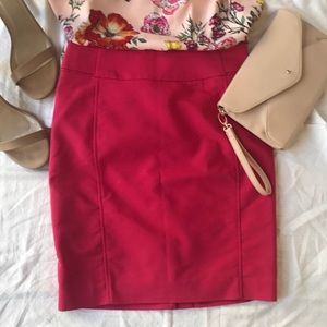 H&M Pink Pencil Skirt Size 6